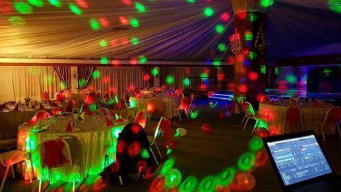 restaurant Garden Senator Timisoara lumini de petrecere