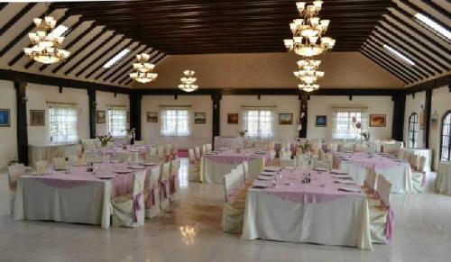 restaurant popasul caprioarei padureni interior sala de nunta