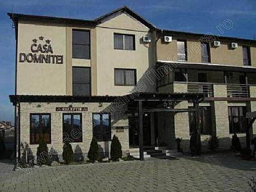 Restaurant Casa Domnitei Mosnita Noua exterior